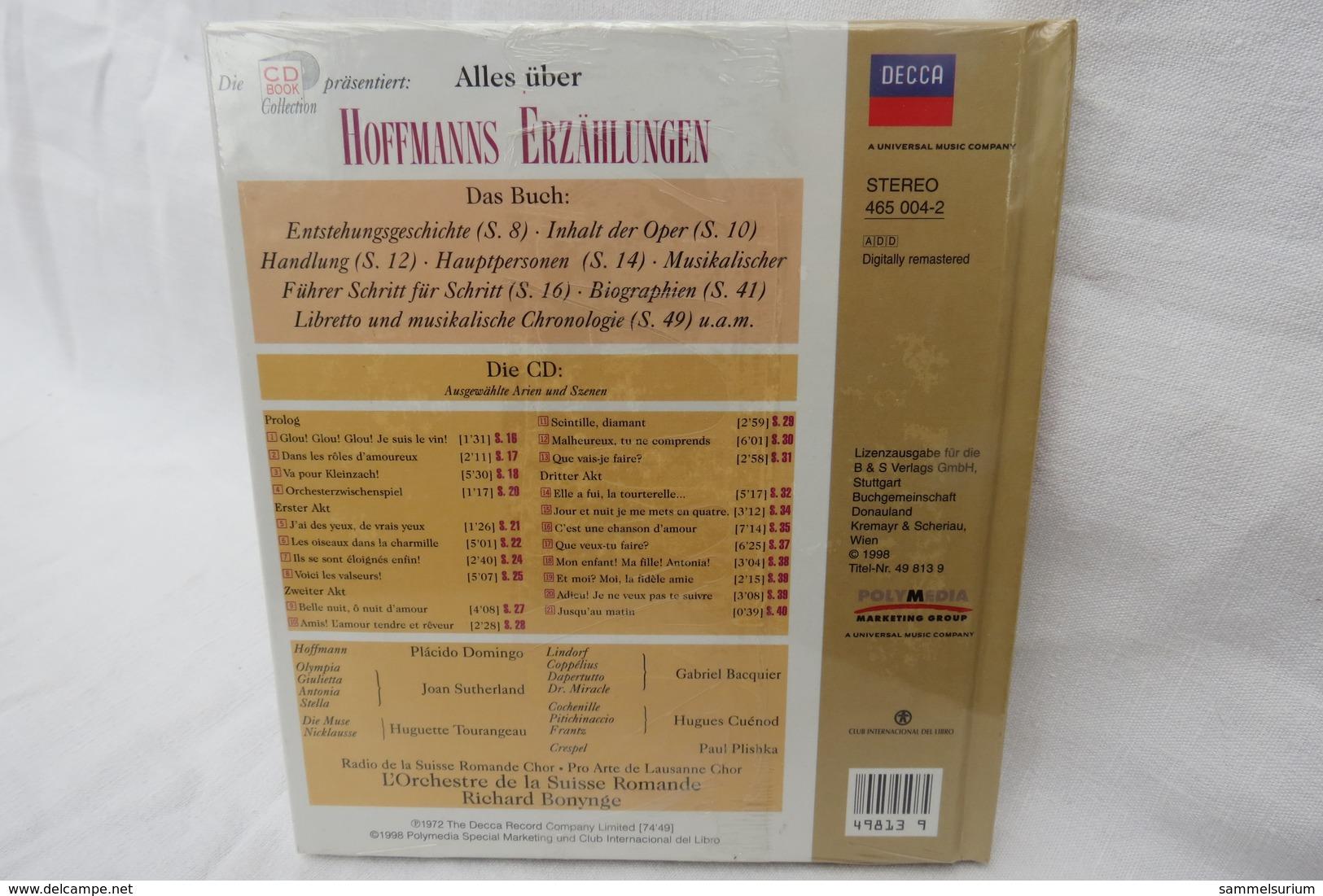 """CD """"Hoffmanns Erzählungen / Jacques Offenbach"""" Mit Buch Aus Der CD Book Collection (ungeöffnet, Original Eingeschweißt) - Oper & Operette"""