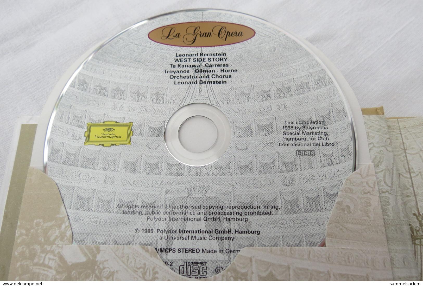 """CD """"West Side Story / Leonard Bernstein"""" Mit Buch Aus Der CD Book Collection (gepflegter Zustand) - Oper & Operette"""