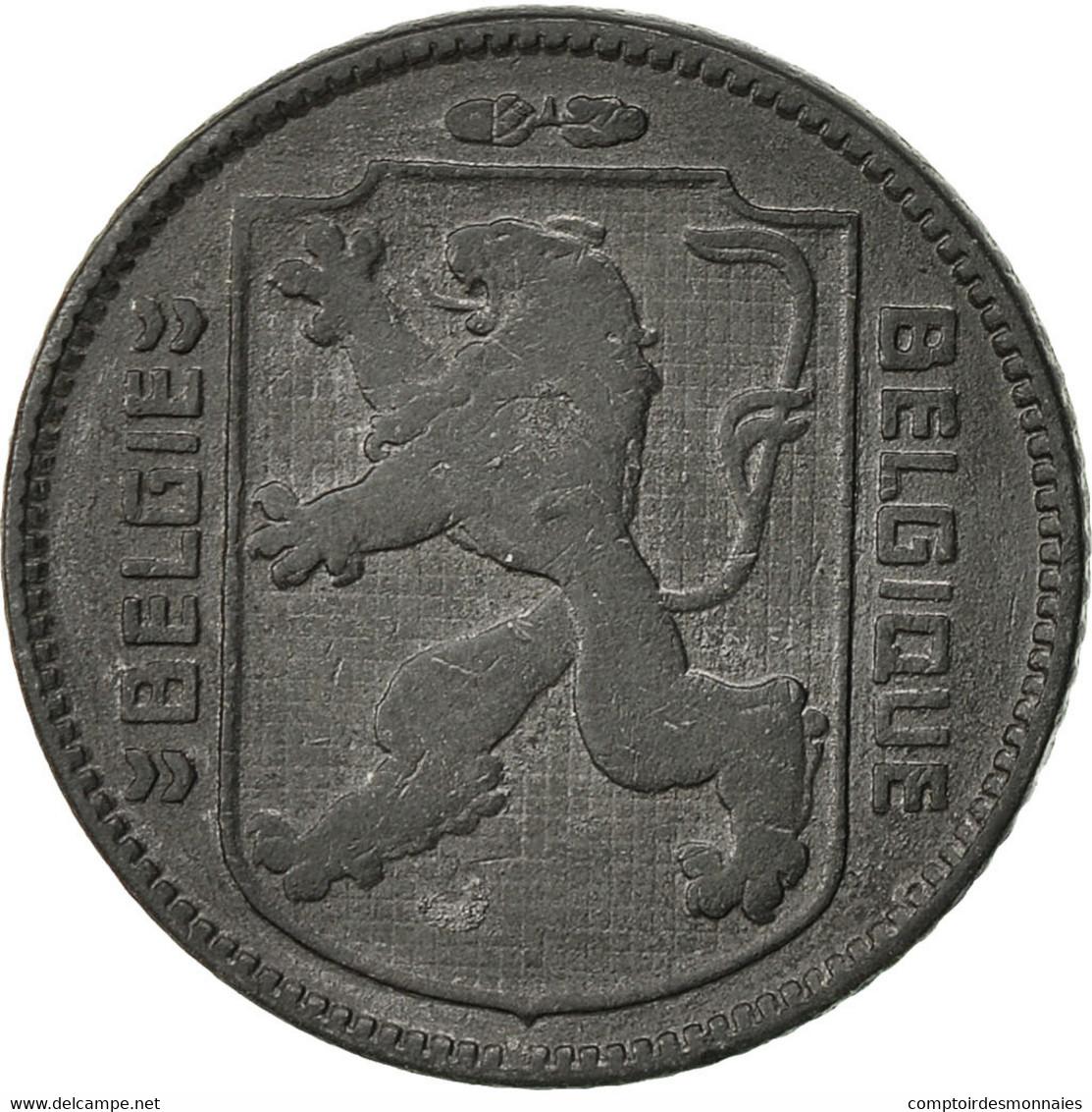 Belgique, Franc, 1942, TTB, Zinc, KM:128 - 1934-1945: Leopold III