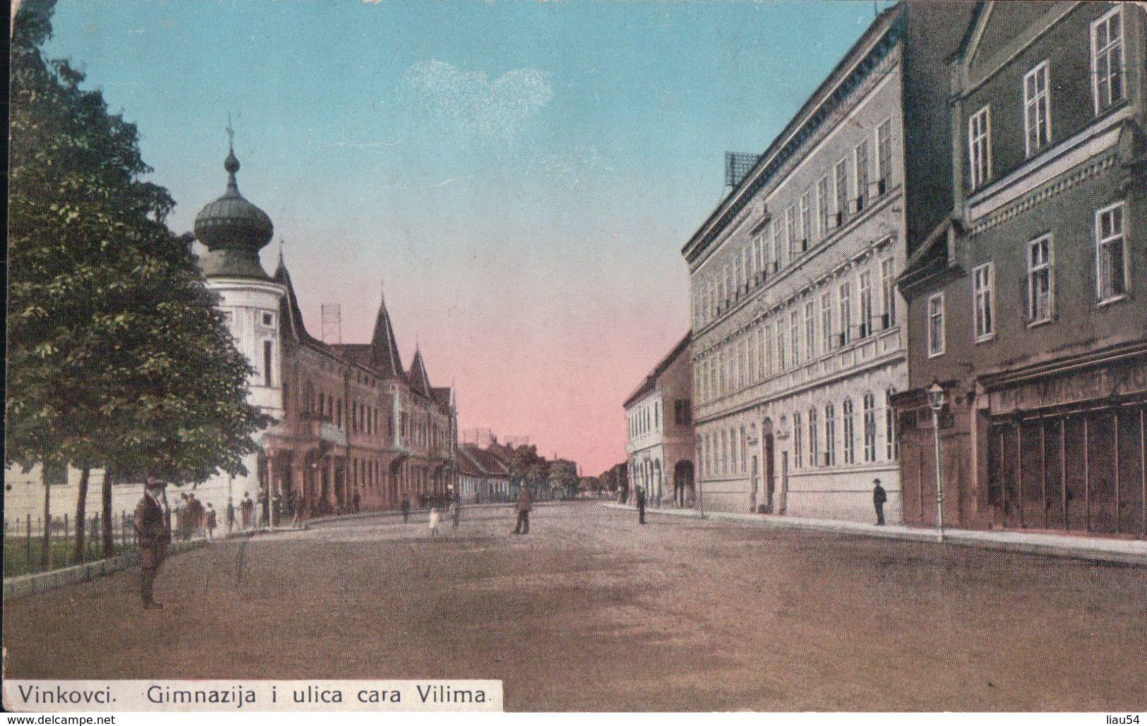 Vinkovci Gimnazija I Ulica Cara Vilima - Croacia
