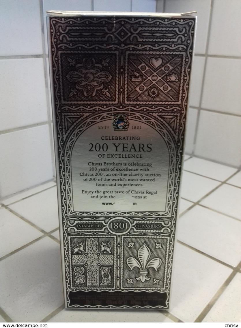 Boite-étui Carton - Whisky CHIVAS Regal 12 Ans D'age - Whisky