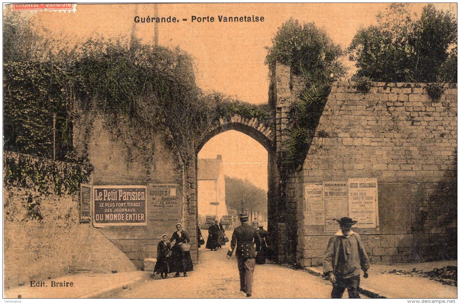 V12568 Cpa 44 Guérande - Porte Vannetaise - Guérande