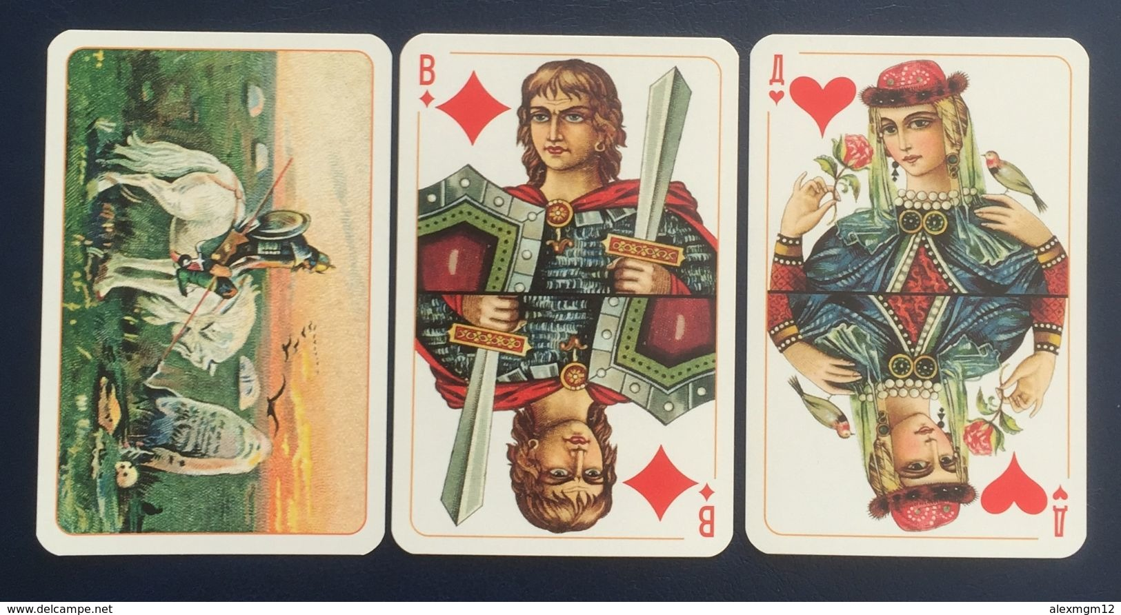 Slavic Playing Cards, Russia, New, Opened - Playing Cards (classic)