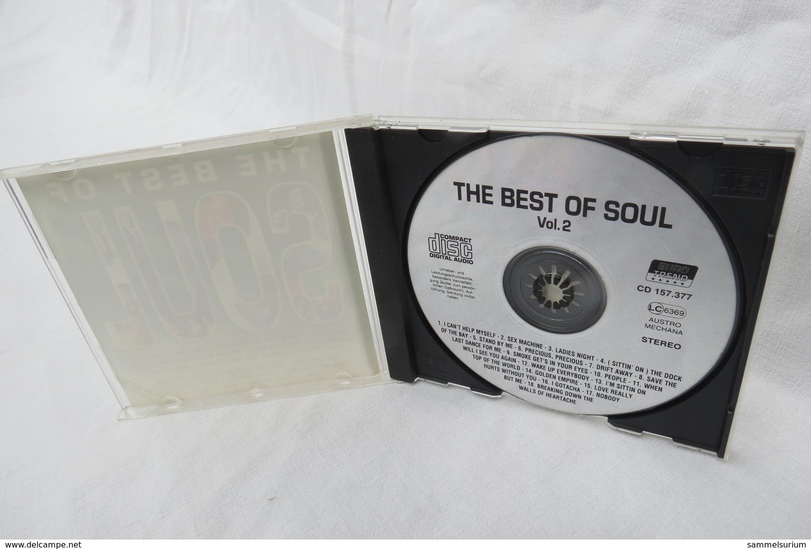 "CD ""The Best Of Soul"" Div.Interpreten, Vol. 2 - Soul - R&B"