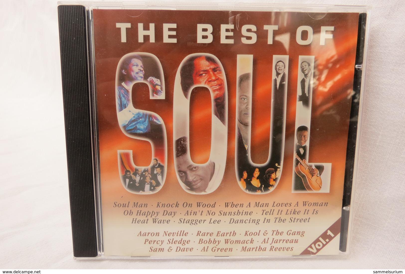 "CD ""The Best Of Soul"" Div.Interpreten, Vol. 1 - Soul - R&B"