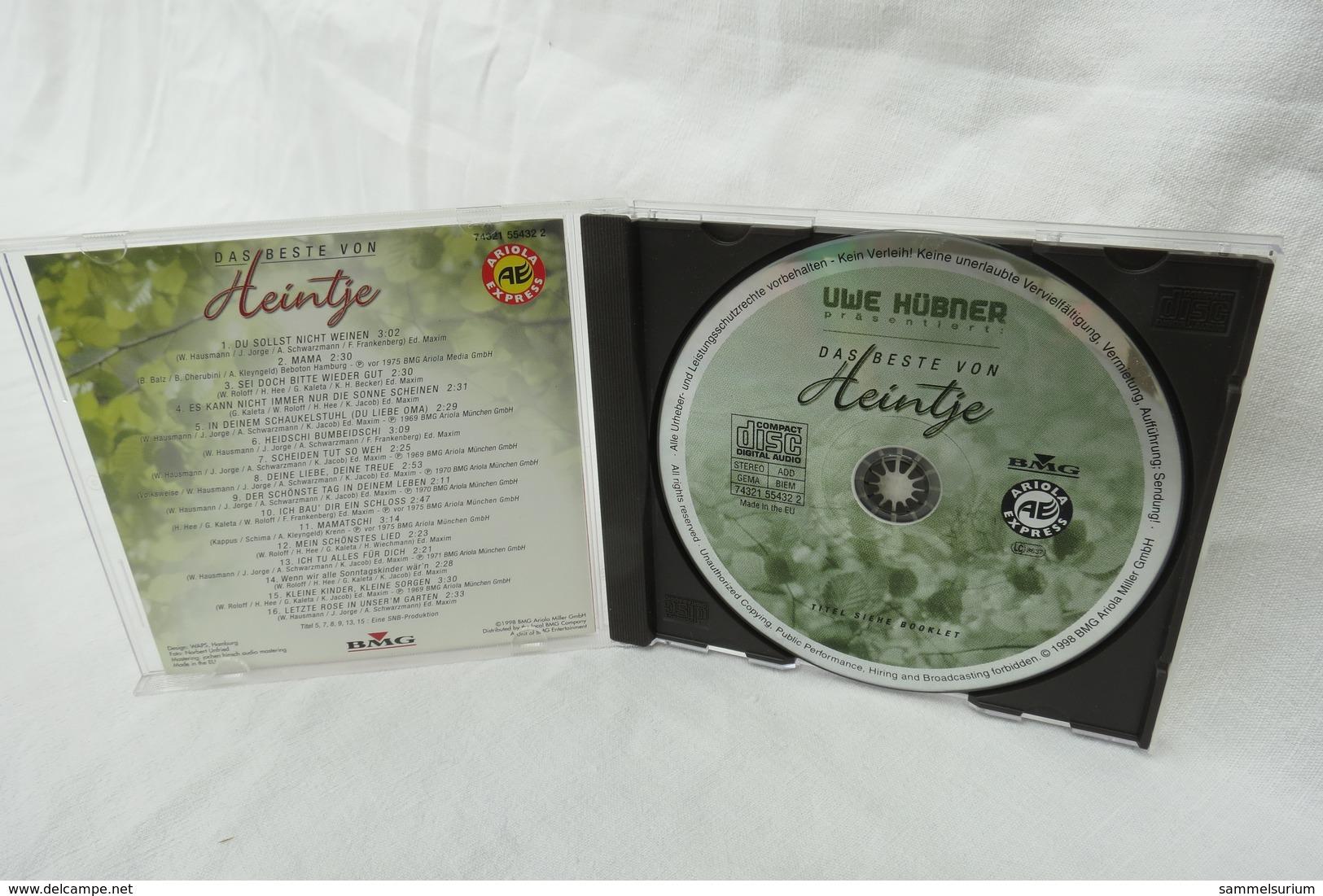 """CD """"Heintje"""" Das Beste Von Heintje Präsentiert Von Uwe Hübner - Musik & Instrumente"""