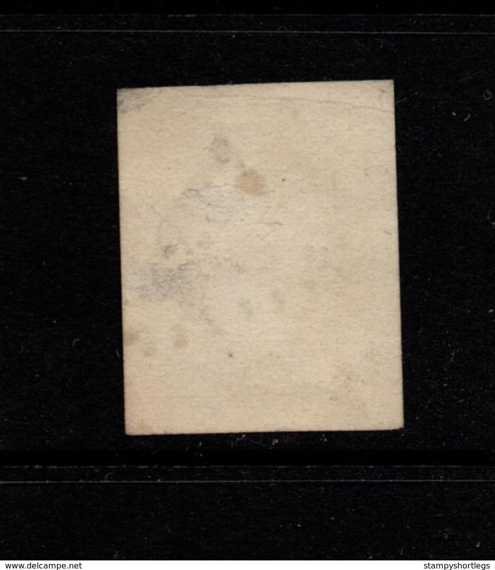 France 1853 Napoleon 10 Cents Die 1 Orange-bistre   Used Has Thins - 1853-1860 Napoleon III