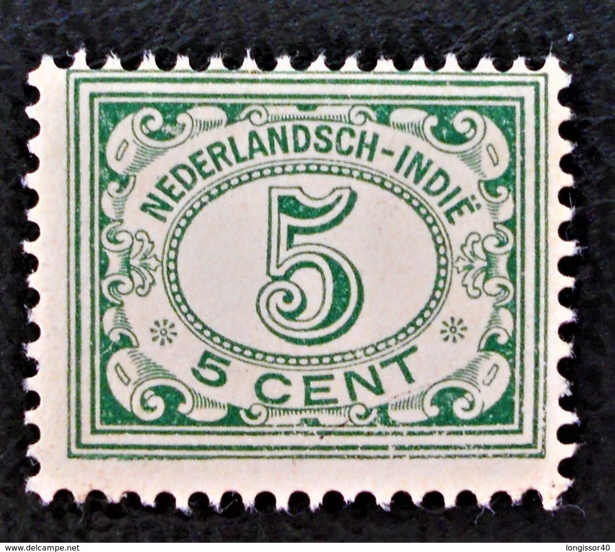 EMISSIONS 1922/41 - NEUF ** - YT 134 - Niederländisch-Indien