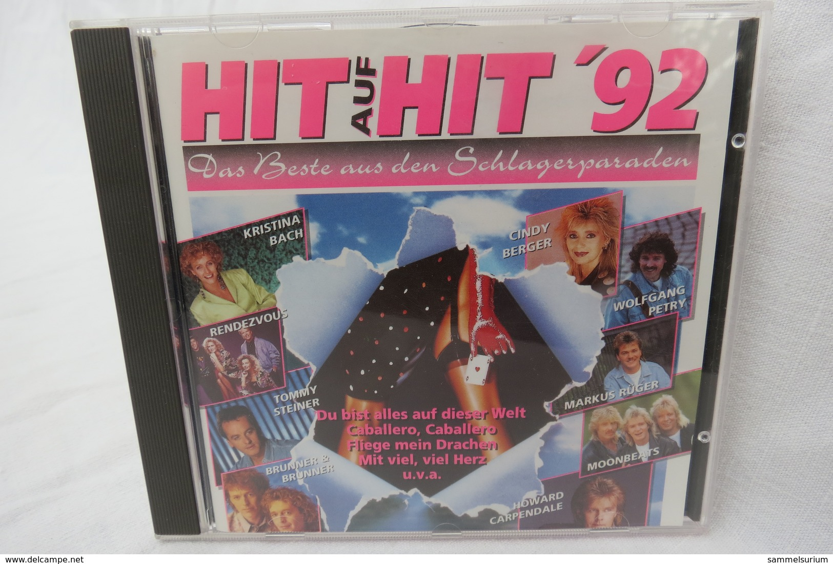 """CD """"Hit Auf Hit '92"""" Das Beste Aus Den Schlagerparaden - Hit-Compilations"""
