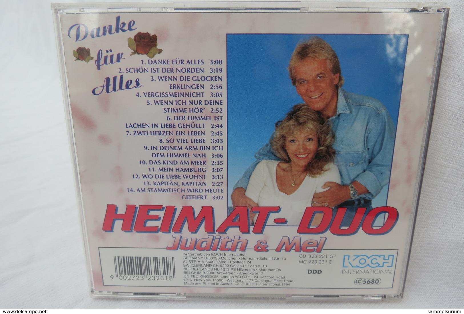 """CD """"Heimat-Duo Judith & Mel"""" Grand Prix Der Volksmusik, Danke Für Alles - Musik & Instrumente"""