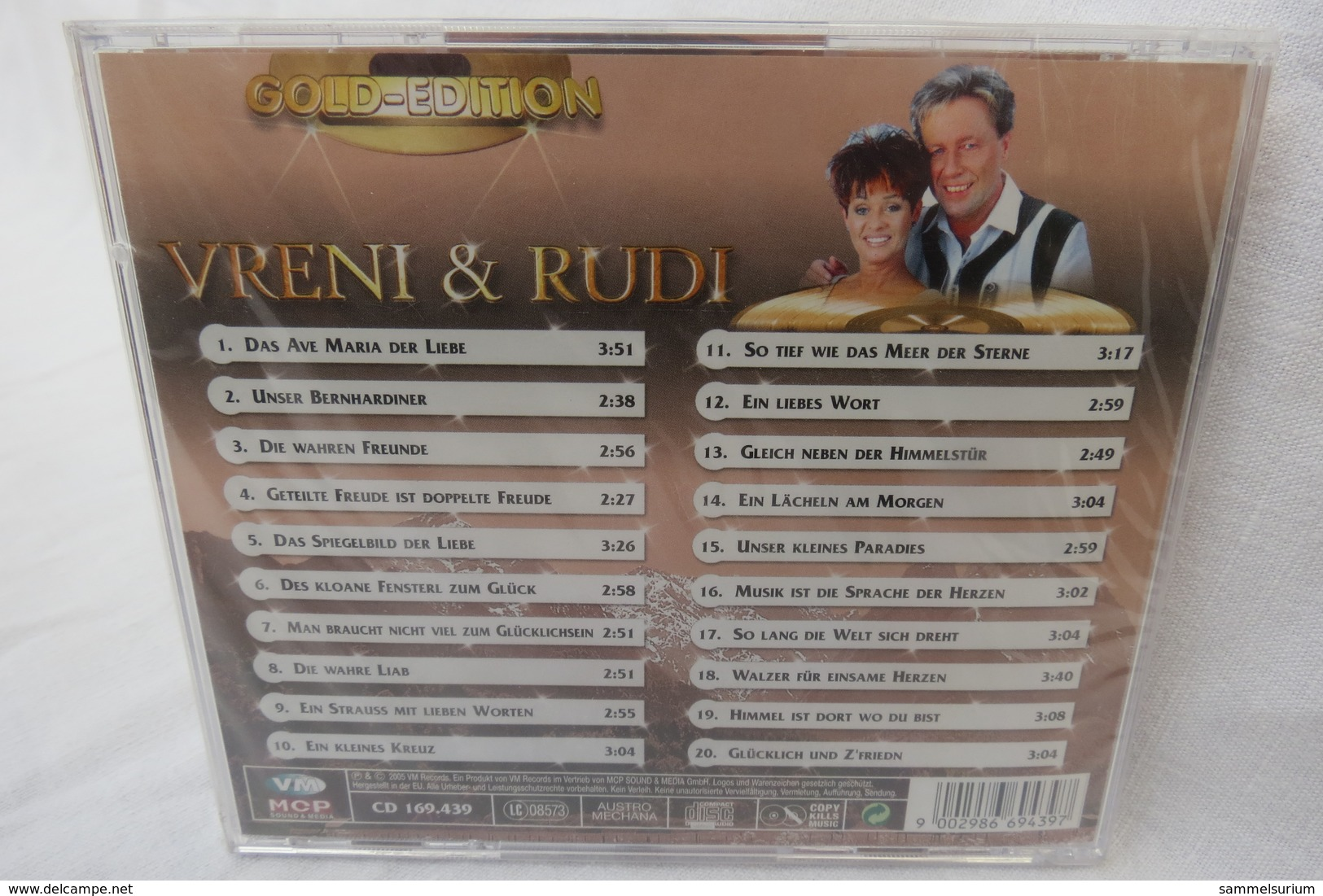 """CD """"Vreni & Rudi"""" Gold-Edition, Ungeöffnet, Orig. Eingeschweißt - Musik & Instrumente"""