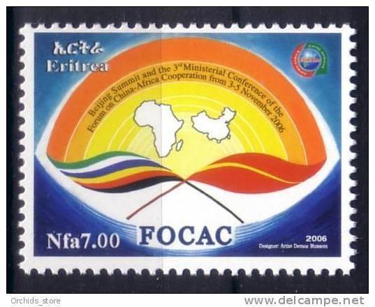 ERITREA Erythrée 2006 MNH ** FOCAC - China Africa Beijing Summit - FOCAC - La Cina Beijing Africa Summit - Eritrea
