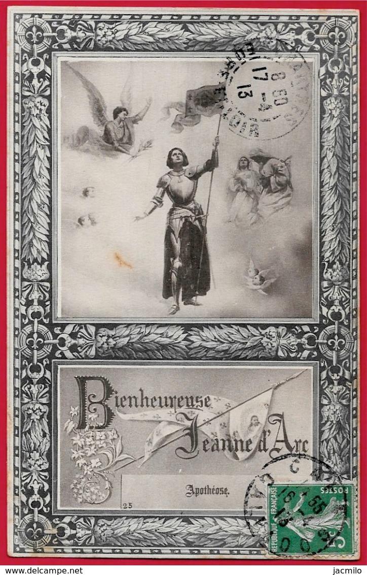 """Histoire *** Série Complète De 25 CPA """"Bienheureuse Jeanne D'Arc"""" *** Légende - Historia"""