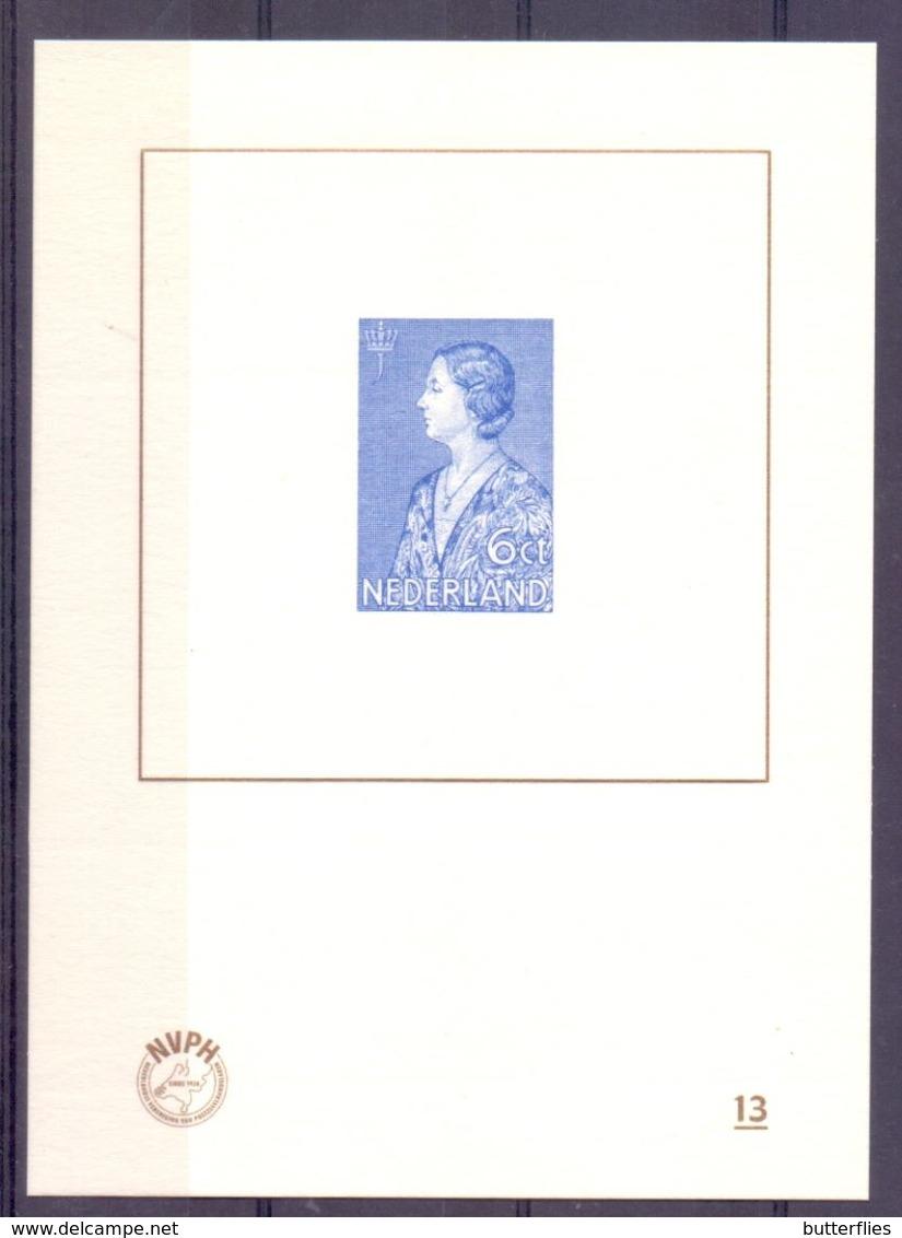 Nederland - 2016 - Blauwdruk -  BD13 - Unused Stamps