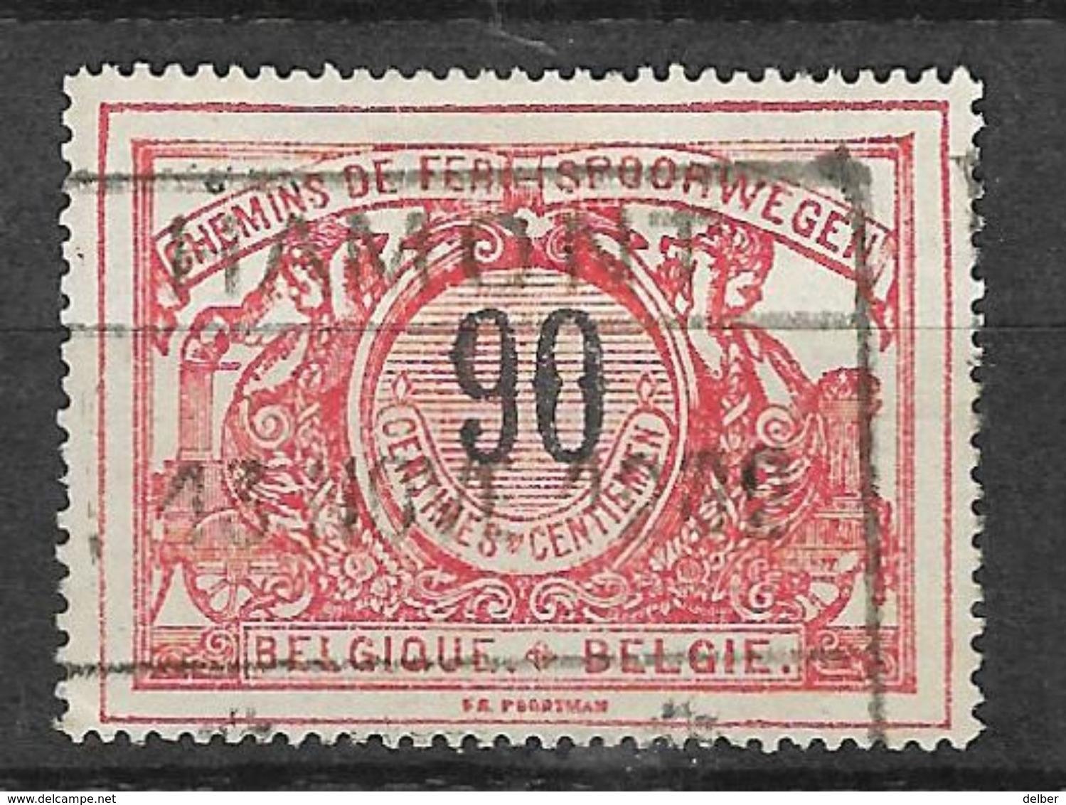 8Nz-969:  HAMONT: Type C19_k : 13 NOVE 12 192 : Jaaraanduiding In 3 Cijfers... - 1895-1913