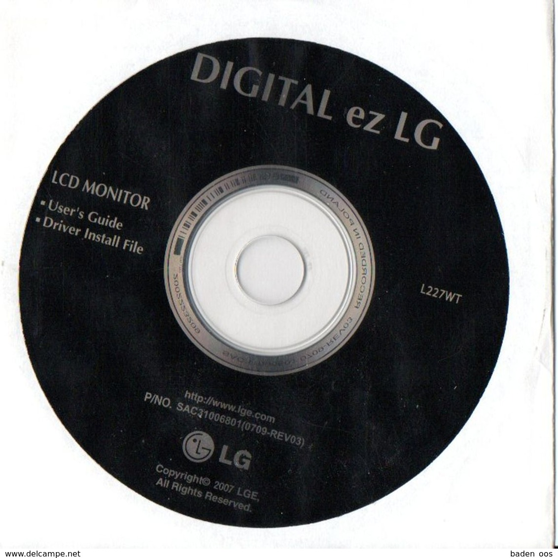 Digital Ez LG  Cd Software L227WT - Sciences & Technique