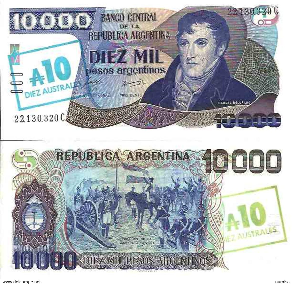 Argentine - Argentina 10 AUSTRALES (1985) Pick 322c Neuf (UNC) - Argentinië