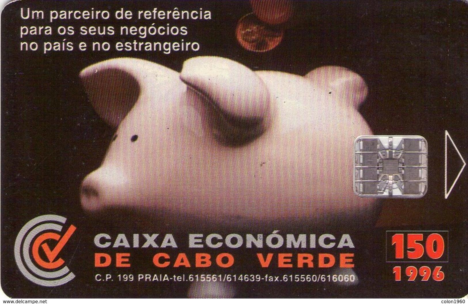 TARJETA TELEFONICA DE CABO VERDE. (004) - Cap Vert
