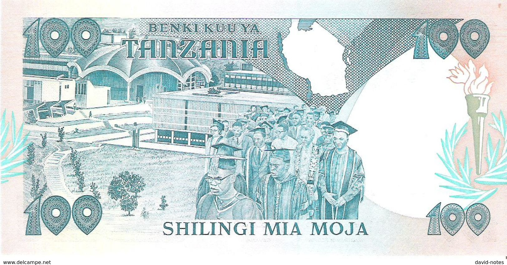 Tanzania - Pick 14 - 100 Shilingi 1986 - Unc - Tanzanie