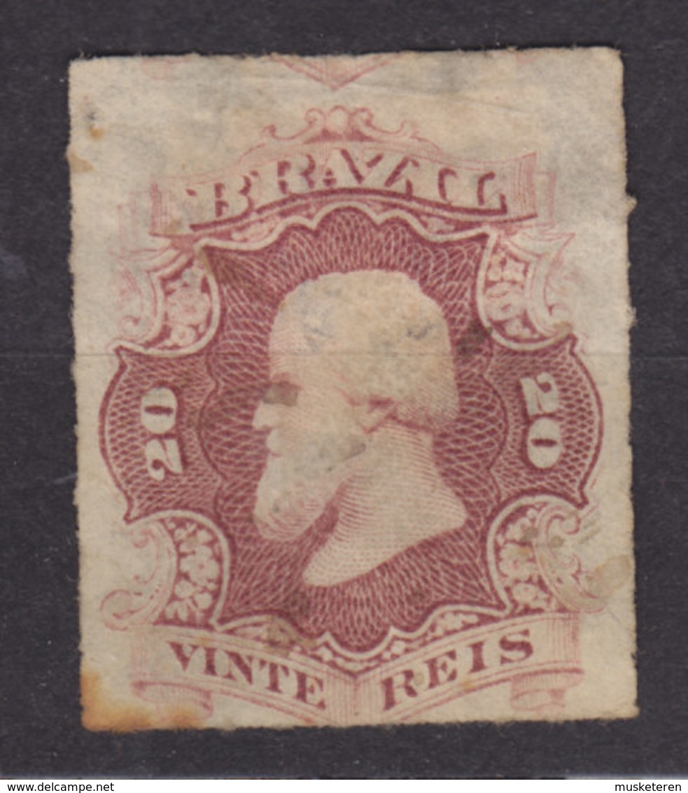 Brazil 1876 Mi. 31      20 R Kaiser Pedro II. - Brasil