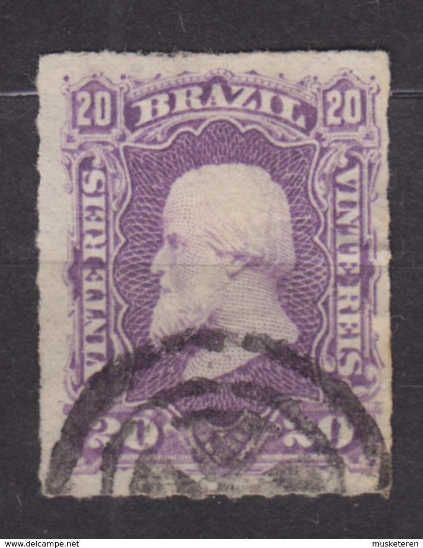 Brazil 1877 Mi. 39      20 R Kaiser Pedro II. - Usados
