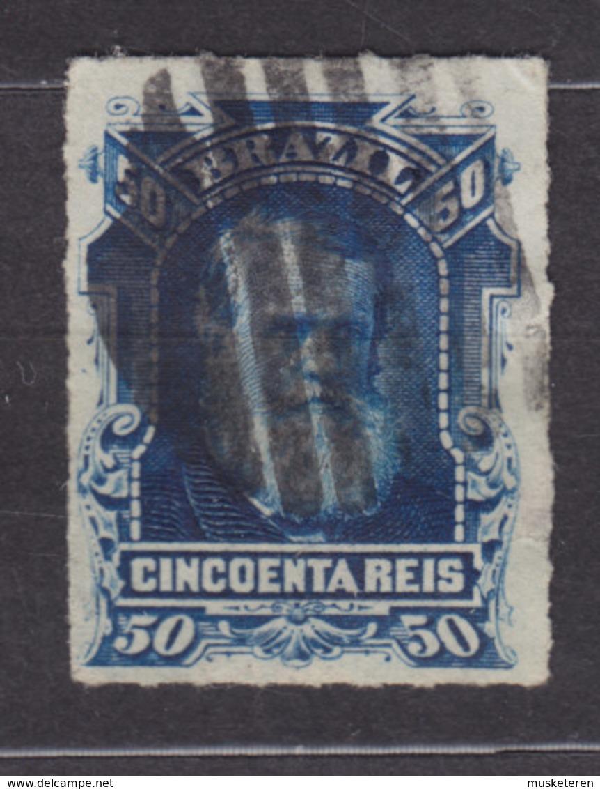 Brazil 1877 Mi. 40      50 R Kaiser Pedro II. - Brasil