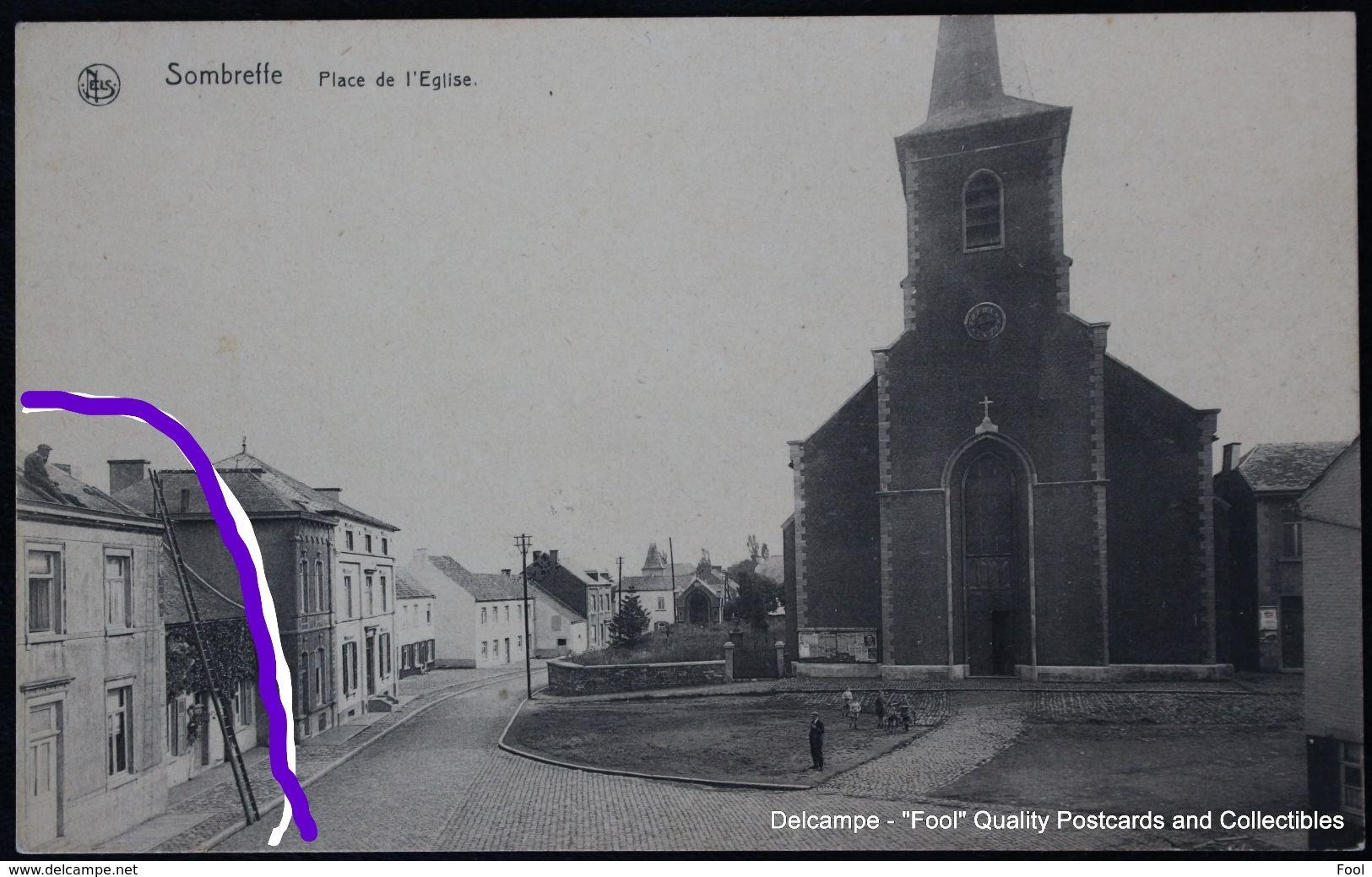Sombreffe Place De L'église - Ardoisier - Sombreffe