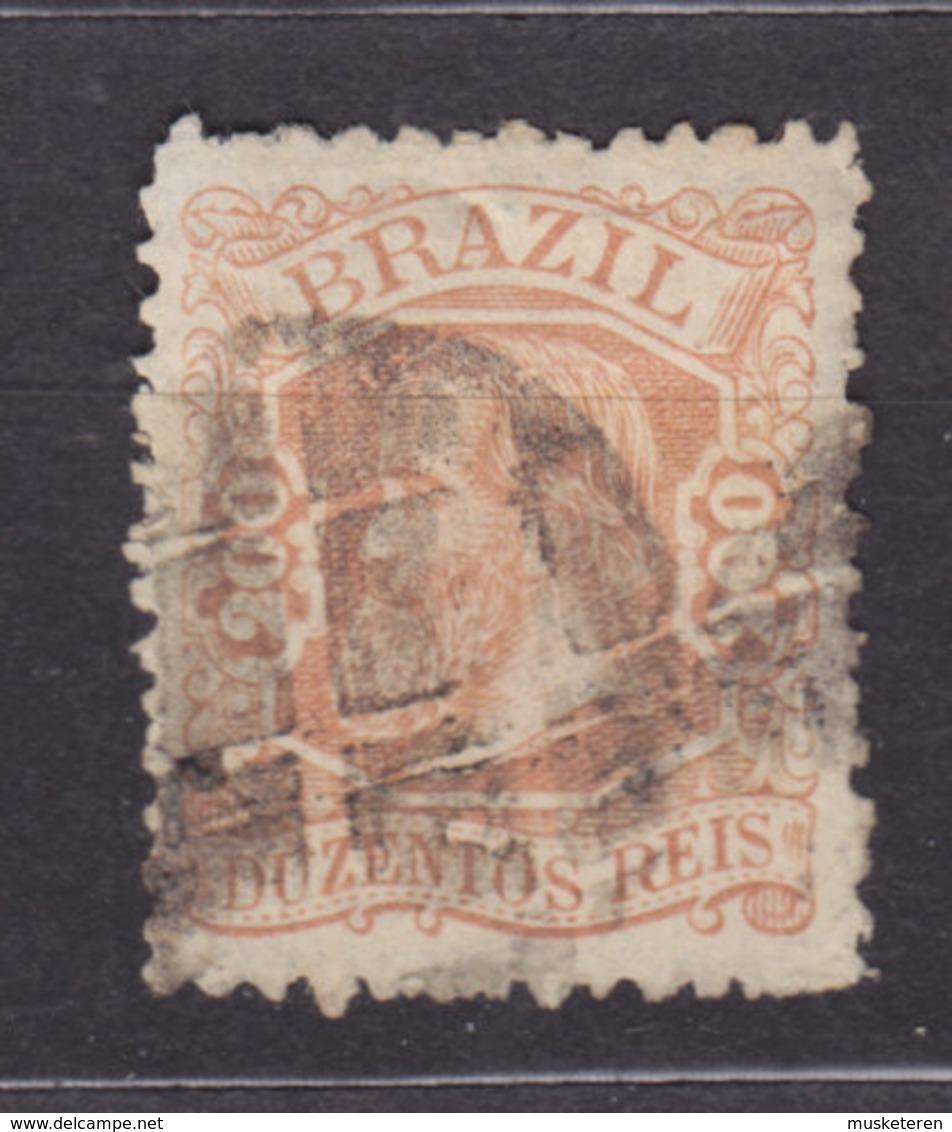 Brazil 1882 Mi. A 52      200 R Kaiser Pedro II. - Brasil