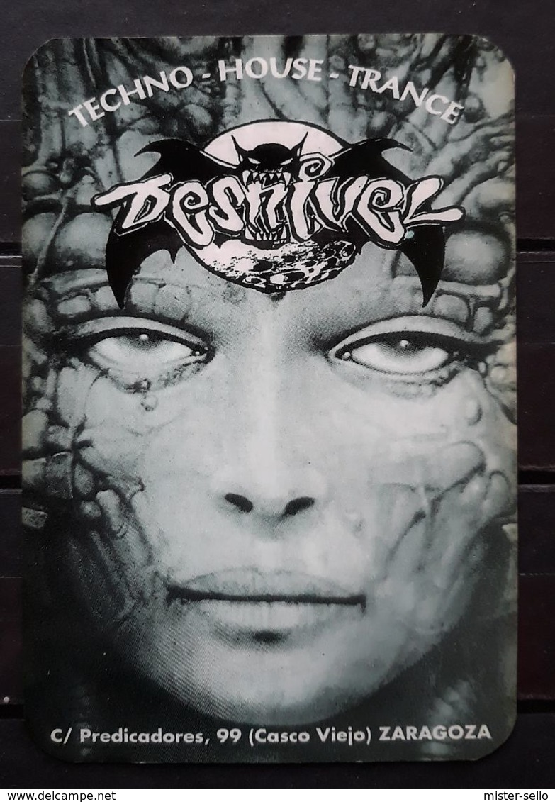 1997 PUB - DISCOTECA DESNIVEL. ZARAGOZA. - Calendarios