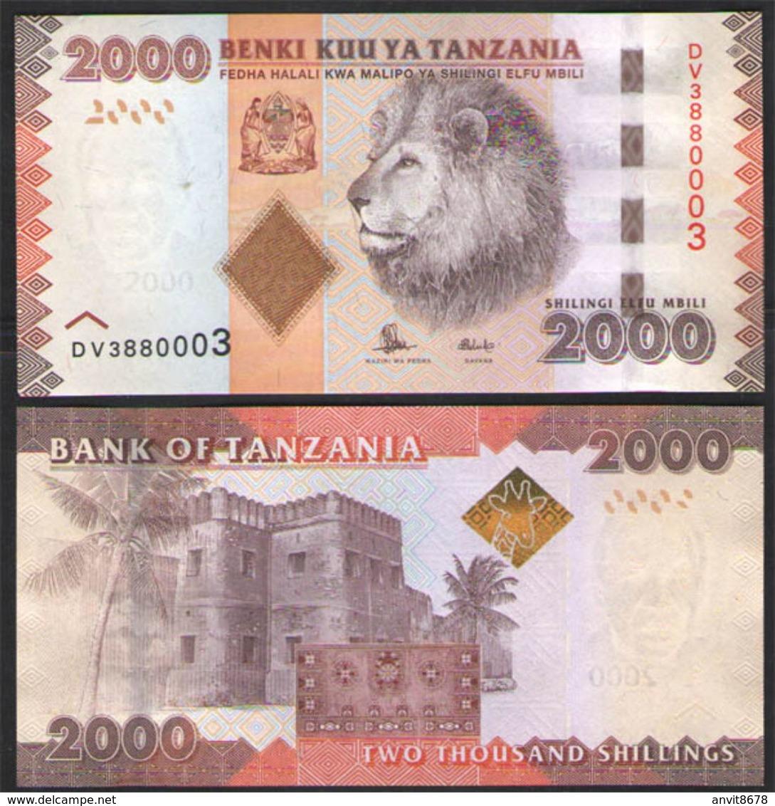 TANZANIA  2000    2015  UNC! - Tanzania