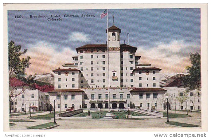 Colorado Colorado Springs The Broadmoor Hotel