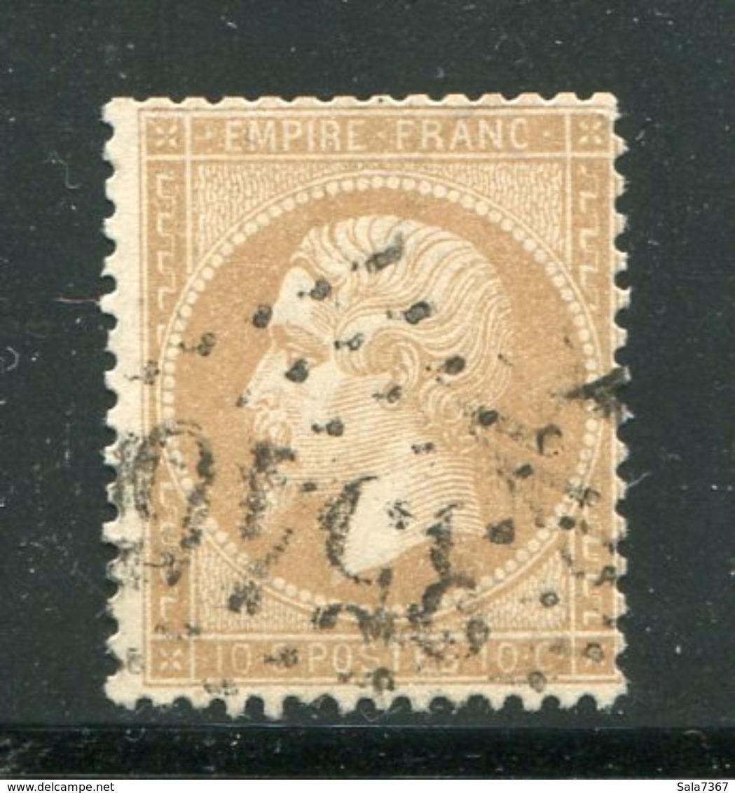Y&T N°21 GC 3546- SAINT CHINIAN 33 - 1849-1876: Période Classique
