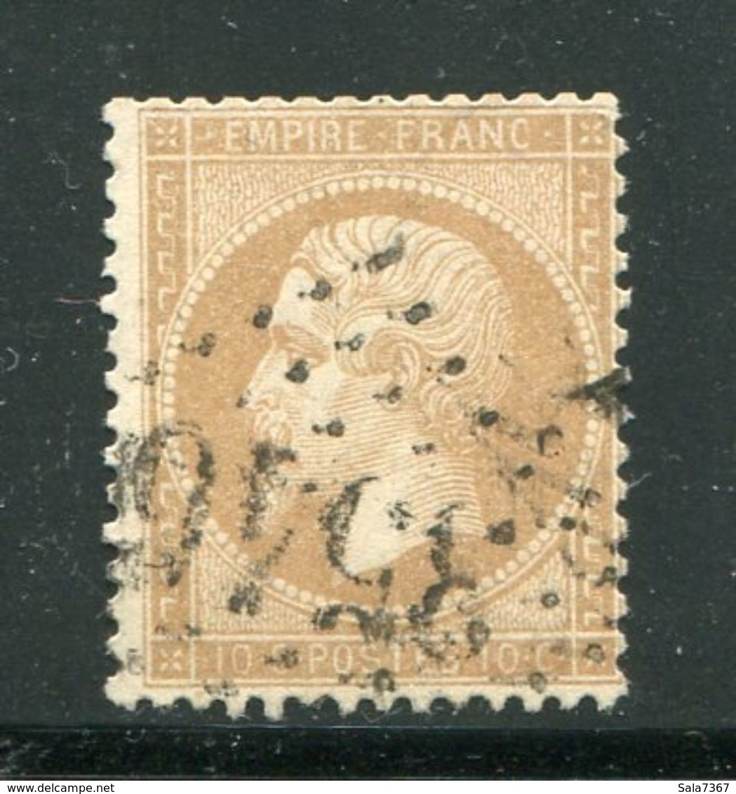 Y&T N°21 GC 3546- SAINT CHINIAN 33 - 1849-1876: Classic Period
