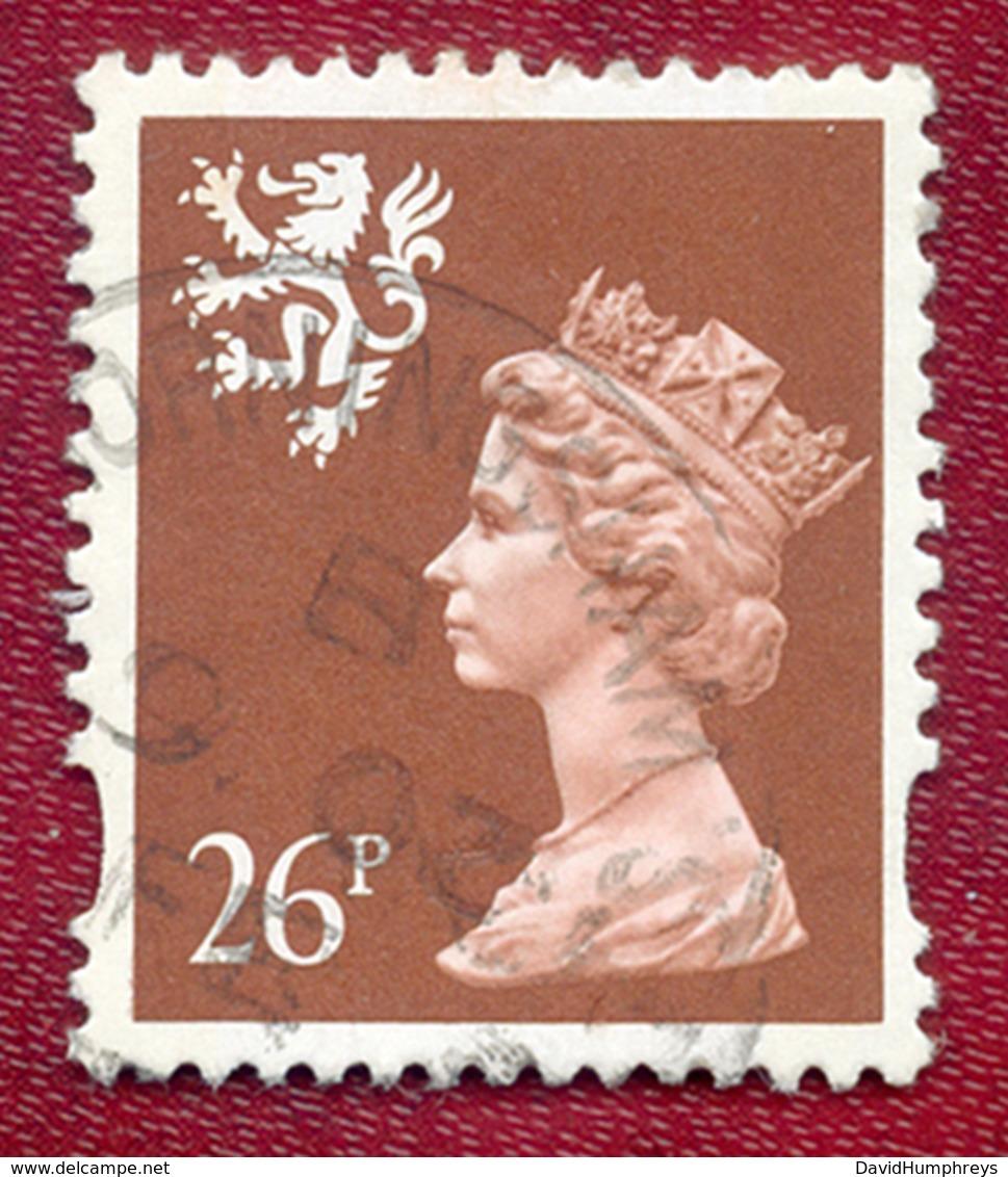 Great Britain GB Regional Scotland 1993 - 1998 26p Brown Machin Used - Regional Issues