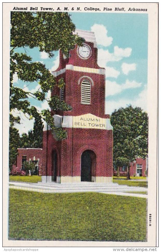 Arkansas Pine Bluff Alumni Bell Tower A M & N College Curtei