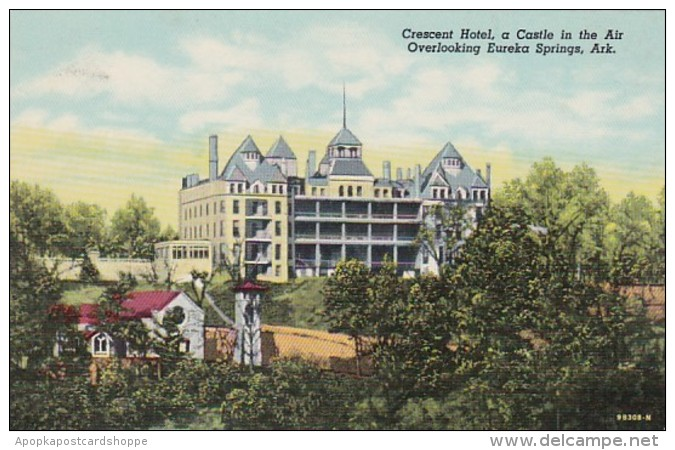 Arkansas Eureka Springs Crescent Hotel Curteich