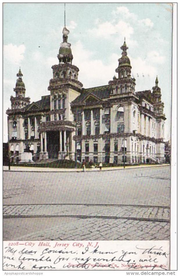 New Jersey Jersey City City Hall 1906