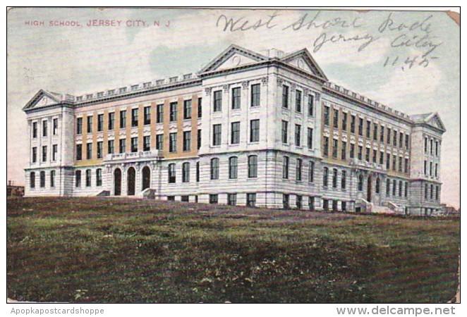 New Jersey Jersey High School 1908