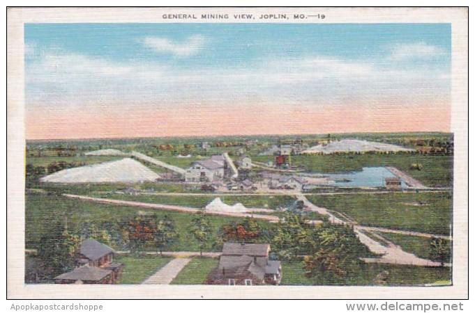 Missouri Joplin General Mining Scene