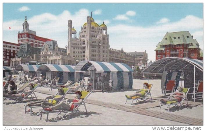 New Jersey Atlantic City Marlborough-Blenheim Hotel Beach Front
