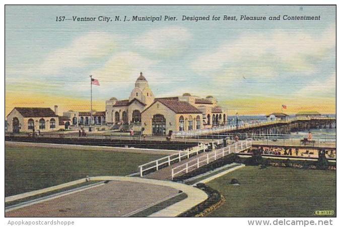 New Jersey Ventnor City Municipal Pier Curteich