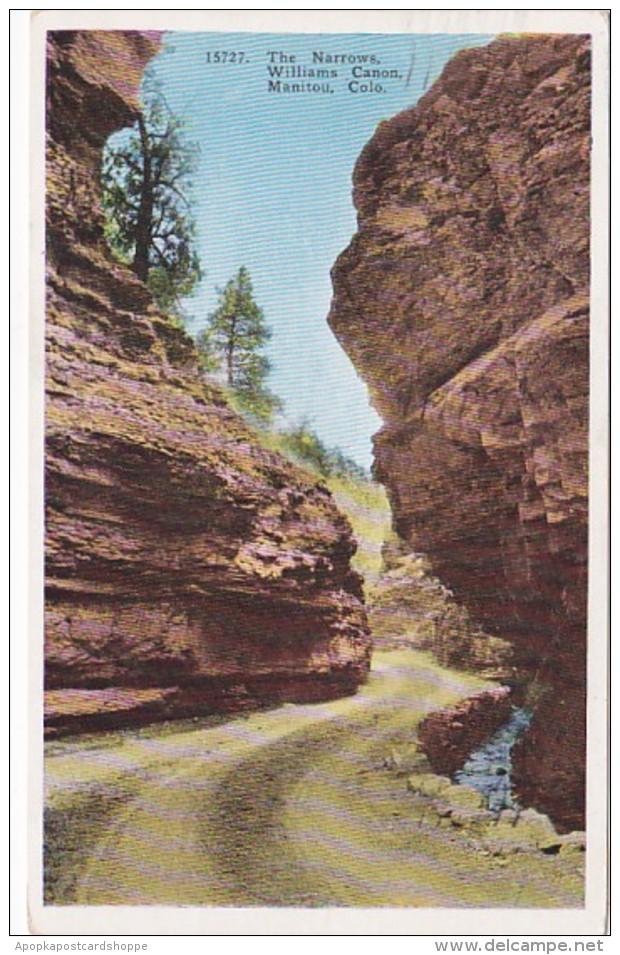 Colorado Manitou The Narrows Williams Canon 1939