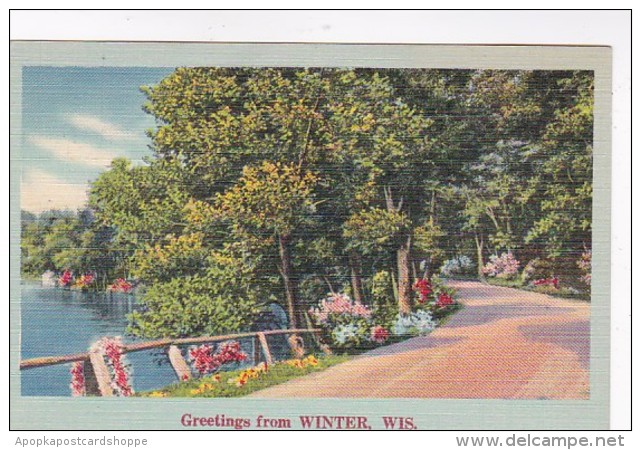 Wisconsin Greetings From Winter 1948