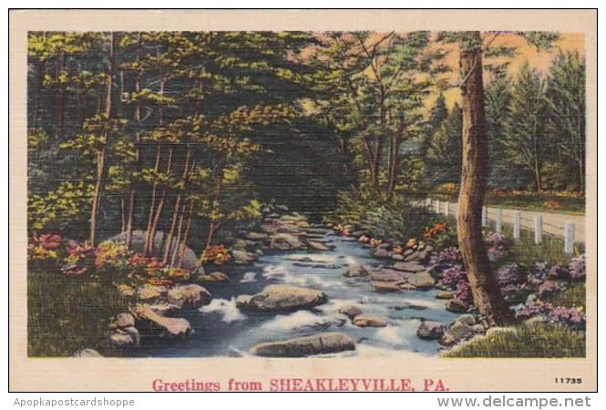 Pennsylvania Greetings From Sheakleyville