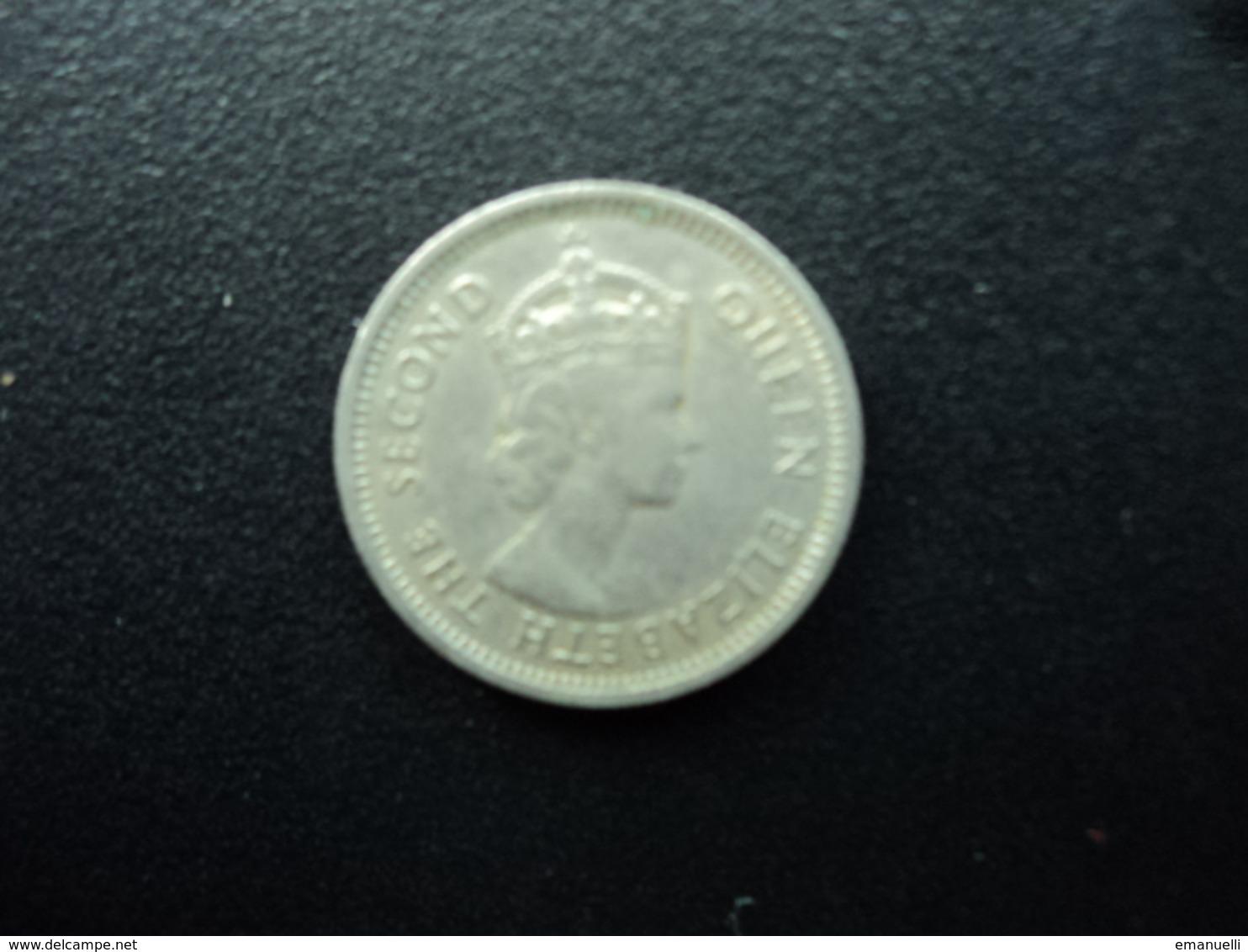 CARAÏBES ORIENTALES : 10 CENTS  1964   KM 5    SUP - Caraïbes Orientales (Etats Des)