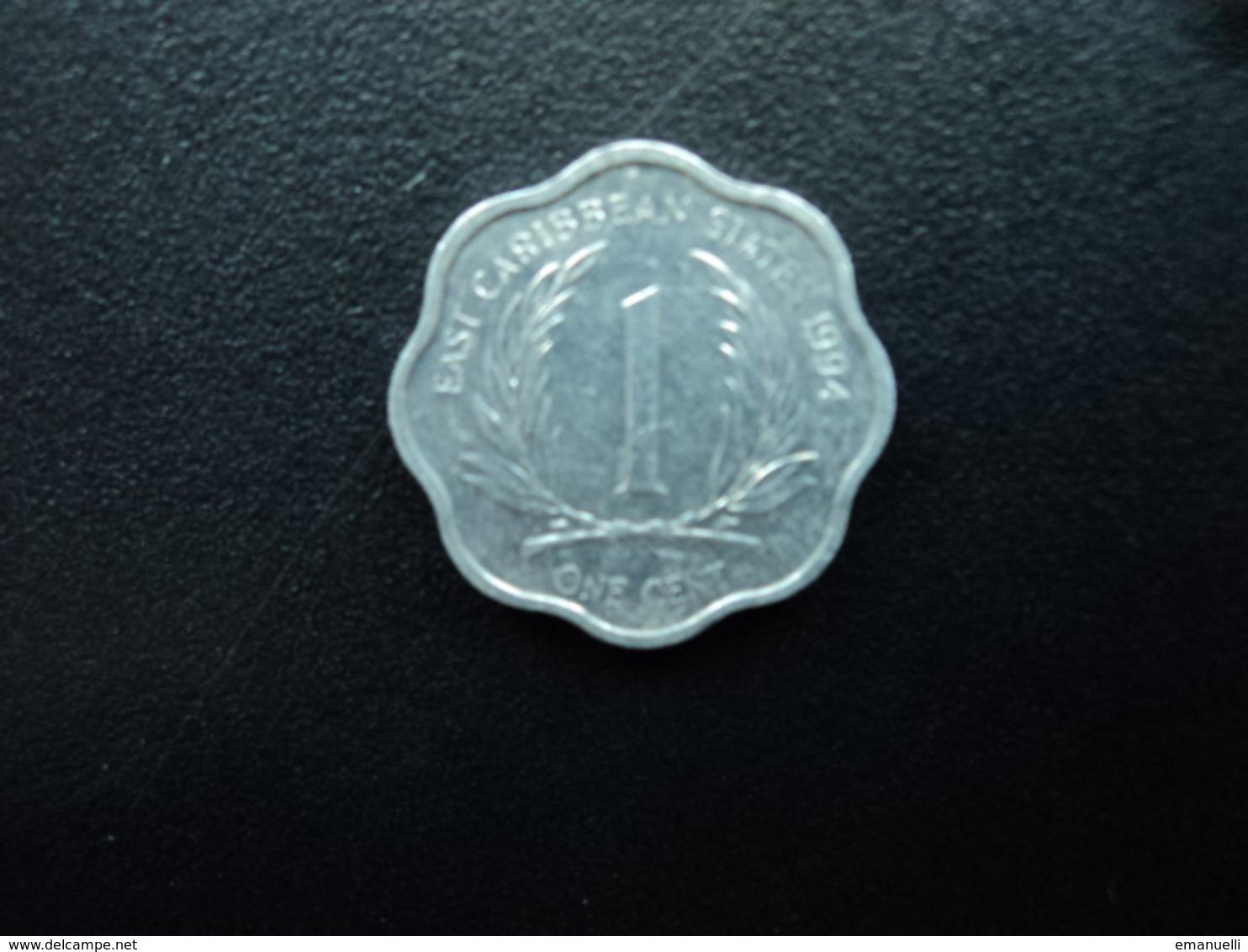CARAÏBES ORIENTALES : 1 CENT  1994   KM 10    SUP+ (non Circulé) - Caraïbes Orientales (Etats Des)