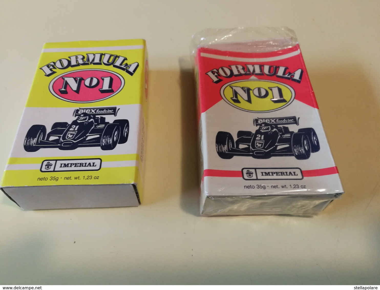 IMPERIAL FORMULA 1 BUBBLE GUM VINTAGE PACKET YUGOSLAVIA ZVAKE - Other Collections
