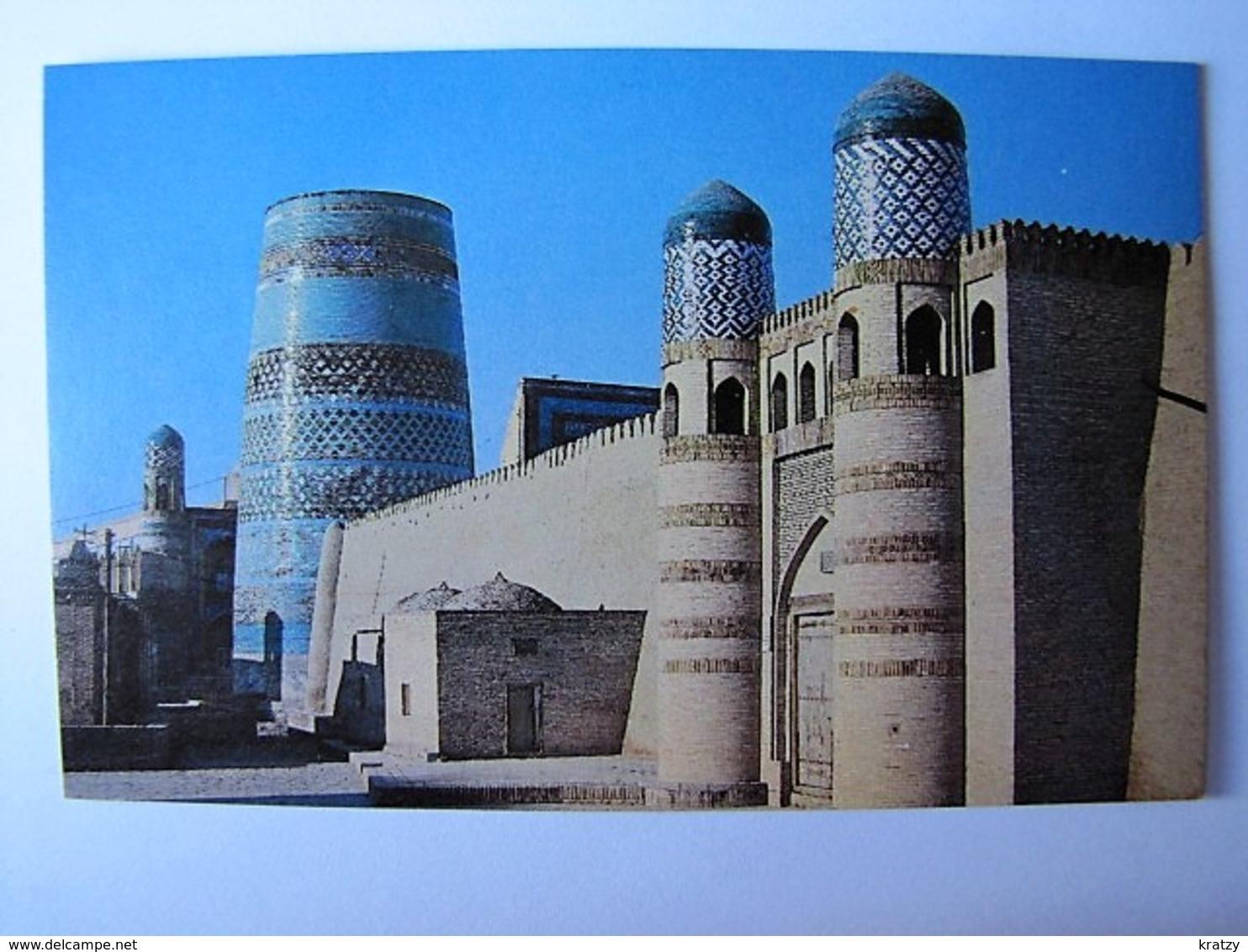 OUZBEKISTAN - KHIVA - Ichan-Kala - The Kunya-arq Citadel And The Kalta-Minär - Uzbekistan