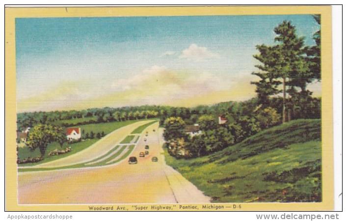 Michigan Pontiac Woodward Avenue Dexter Press