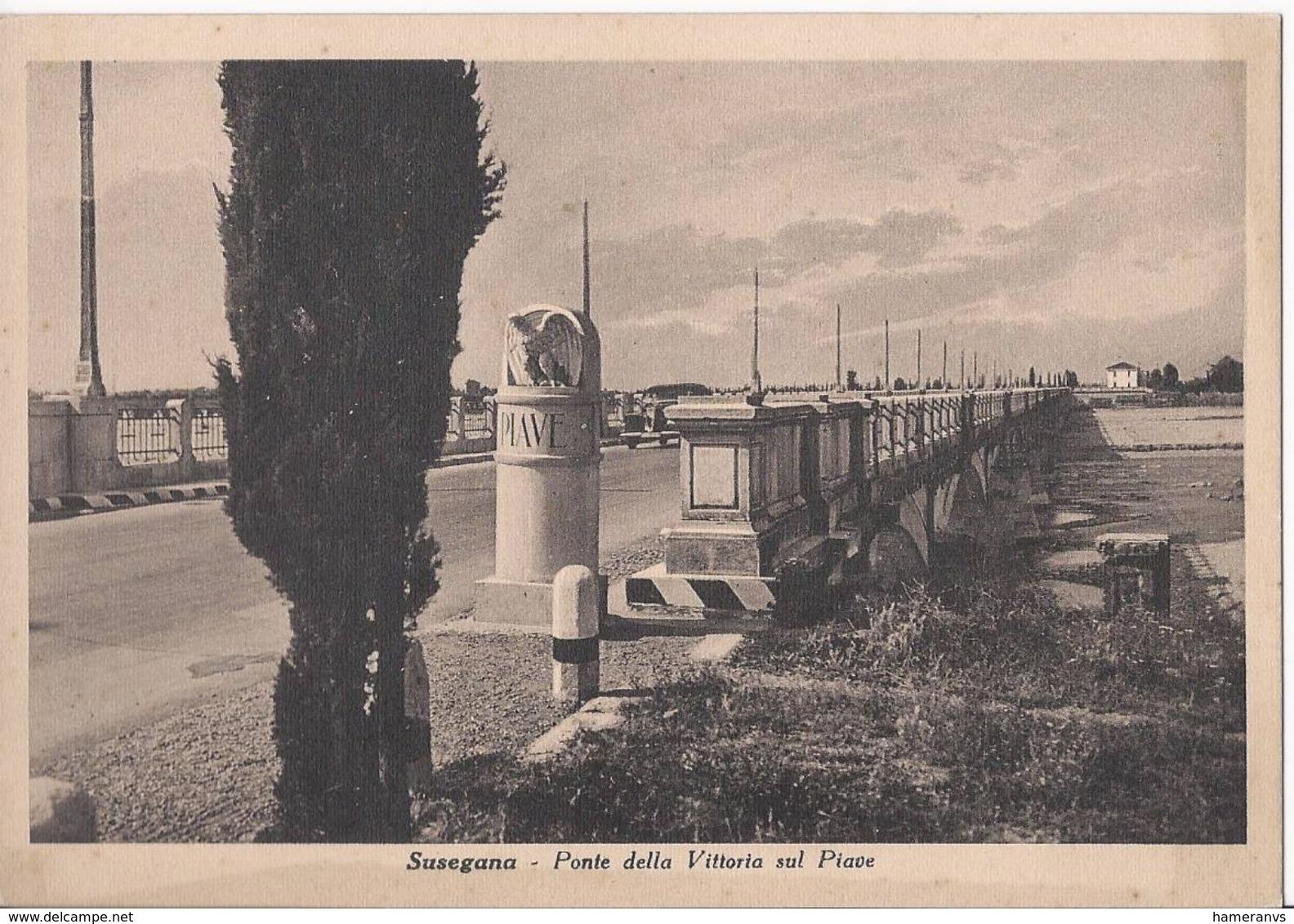 Susegana - Ponte Della Vittoria Sul Piave - Treviso - H4125 - Treviso